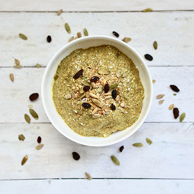 Golden Spiced Chia Cereal