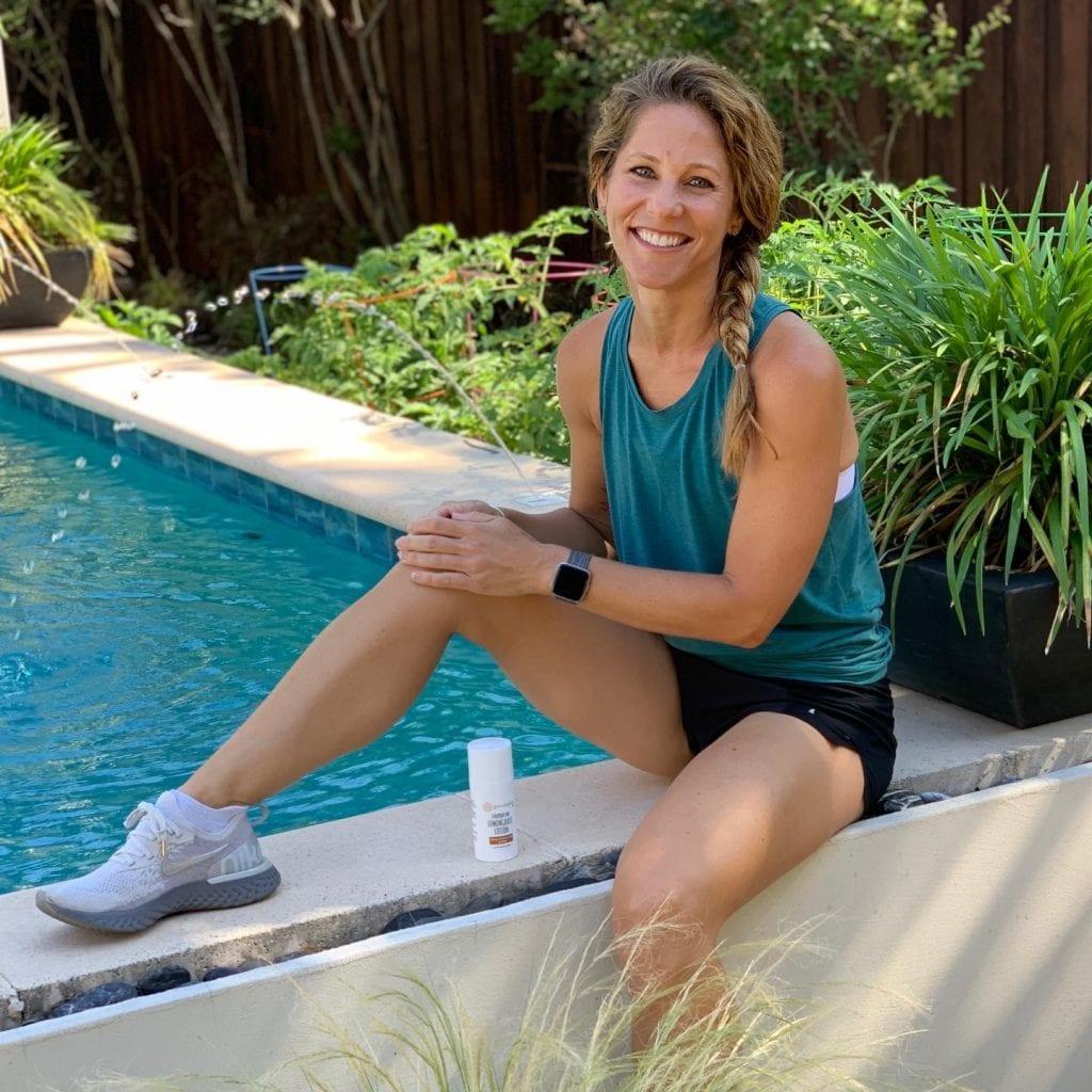 Topical CBD for Trainer Kristen