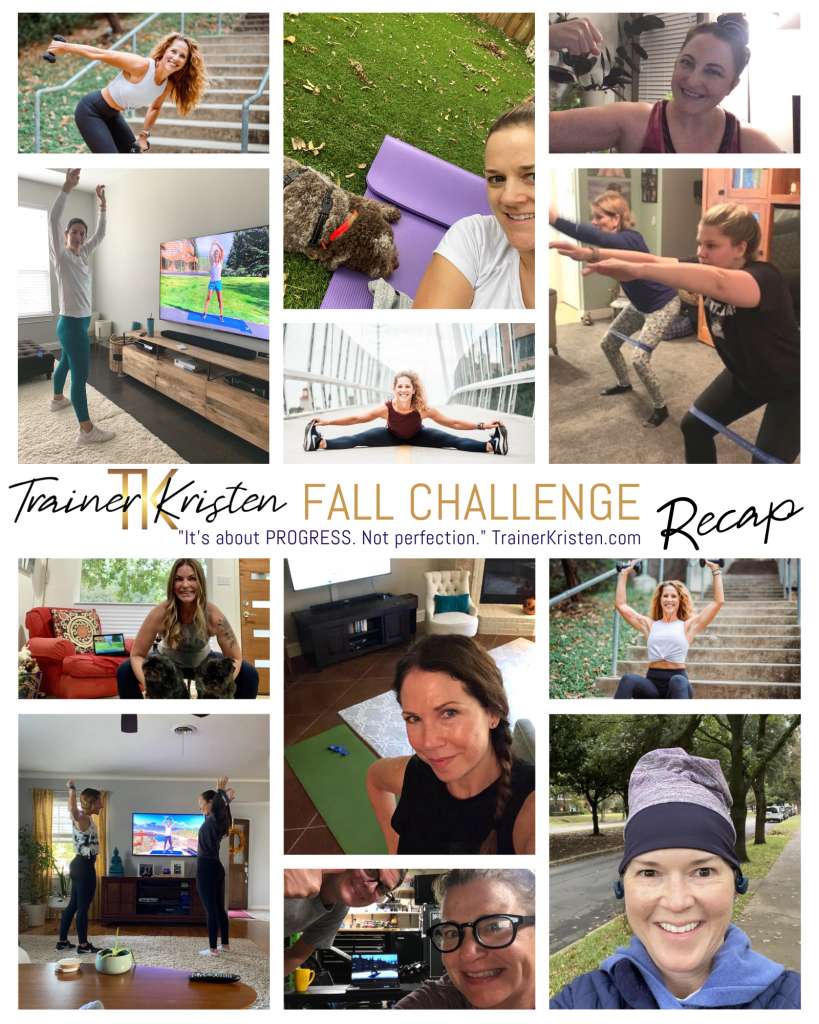 Trainer Kristen Fit for Fall Challenge
